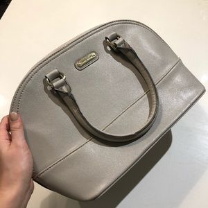 Grey Anne Klein purse